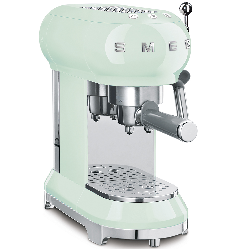 SMEG ECF01PGEU Espresso-Kaffeemaschine pastellgrün