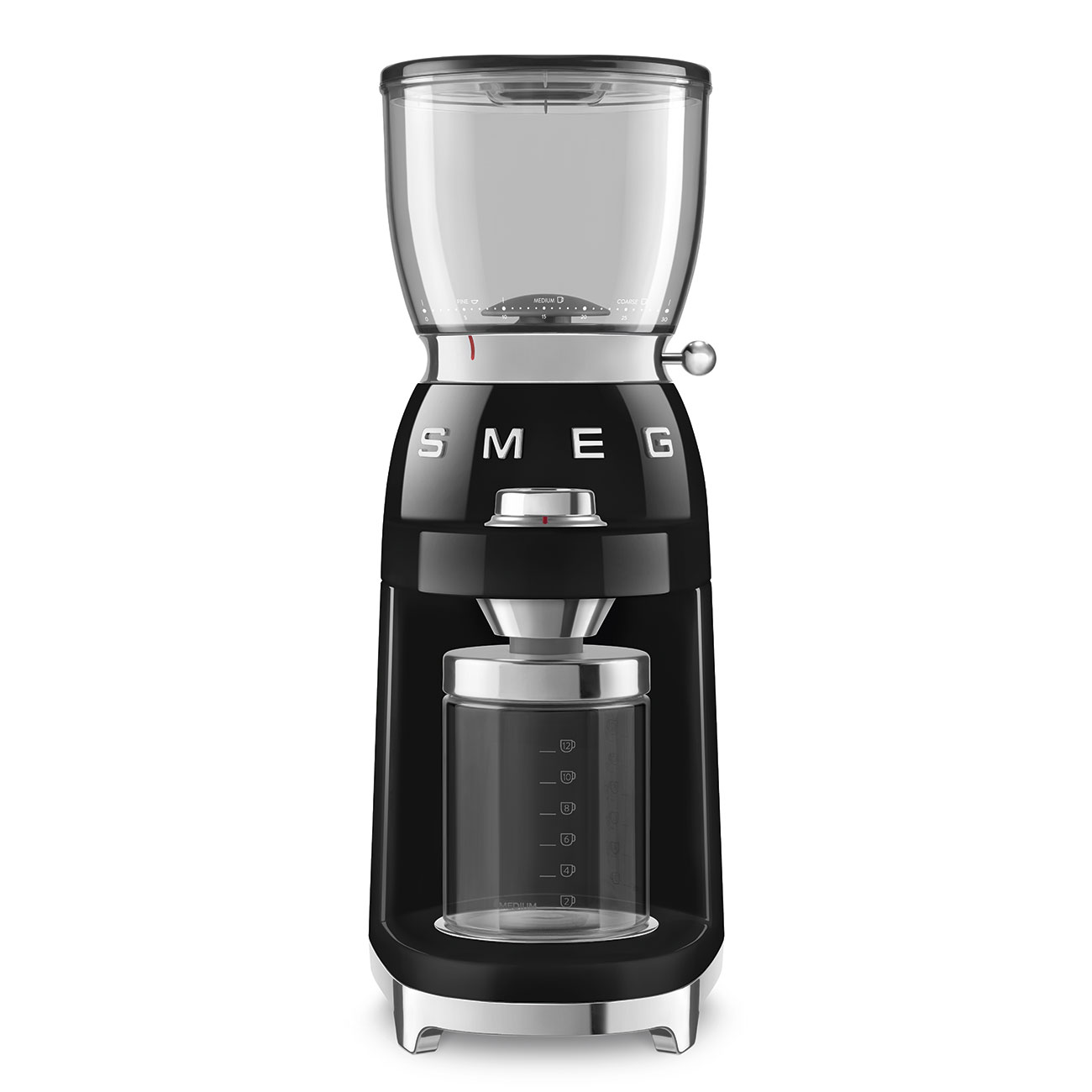 Smeg CGF01BLEU Kaffeemühle Schwarz