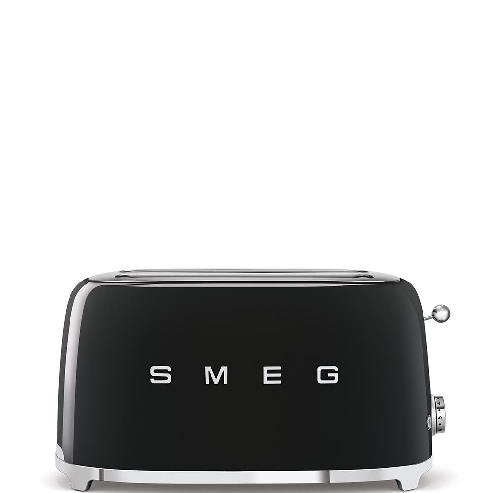Smeg TSF02BLEU Toaster Schwarz