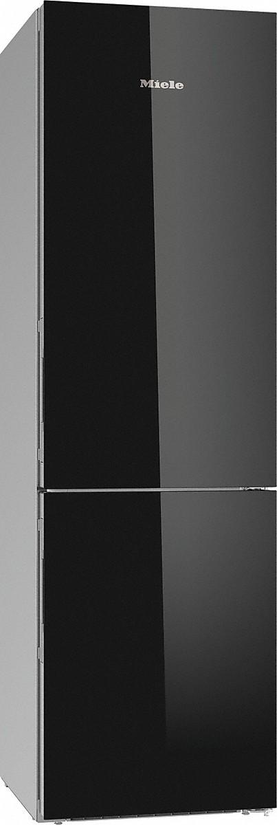 Miele KFN 29683 D OBSW Stand-Kühl-Gefrierkombination Obsidianschwarz