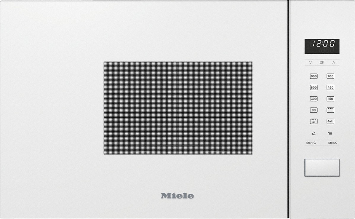 Miele M 2234 SC Einbau-Mikrowelle Brillantweiß