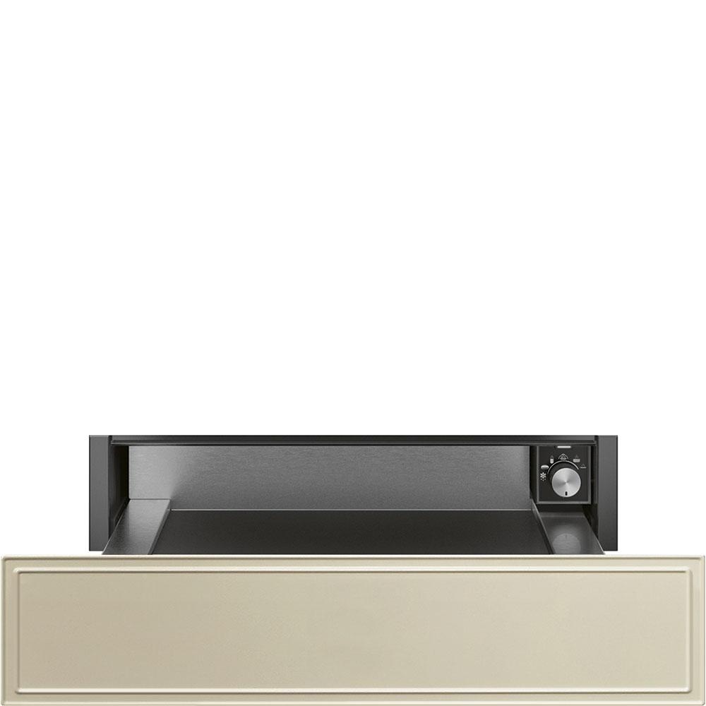 SMEG CPR715P Einbau-Wärmeschublade Creme