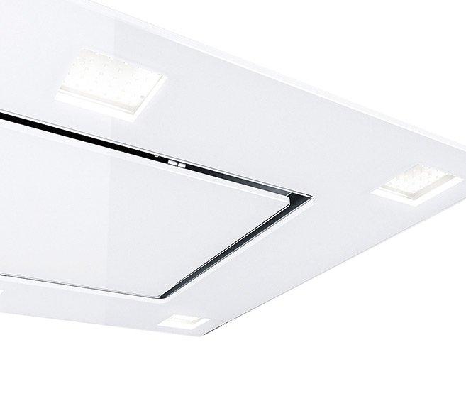 [Zweite Wahl] Gutmann 68EM1200B Deckenhaube Weiß