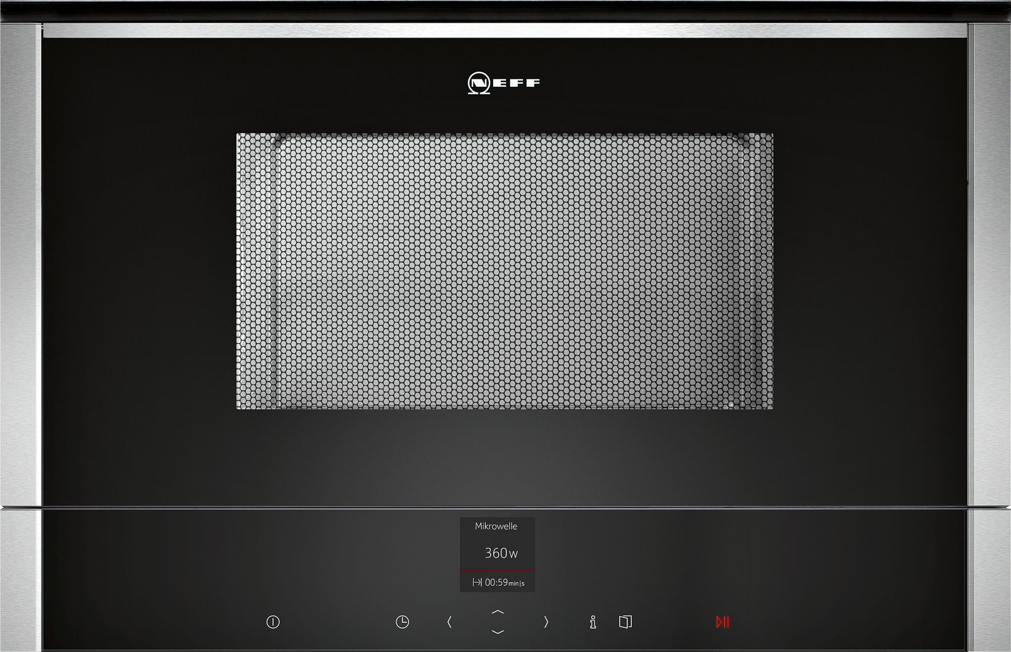 Neff C17WR00N0 Einbau-Mikrowelle Edelstahl