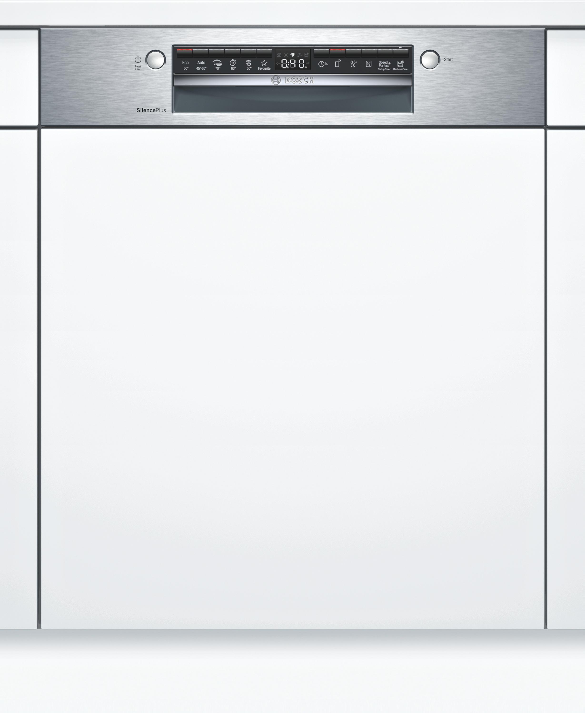 Bosch SMI4HAS48E Teilintegrierter Geschirrspüler Edelstahl