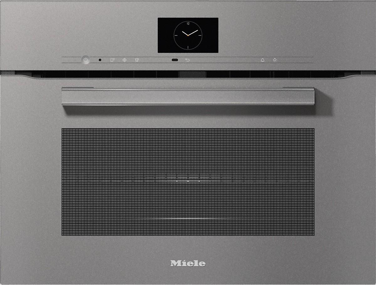 Miele H 7640 BM Kompakt-Backofen mit Mikrowelle Graphitgrau