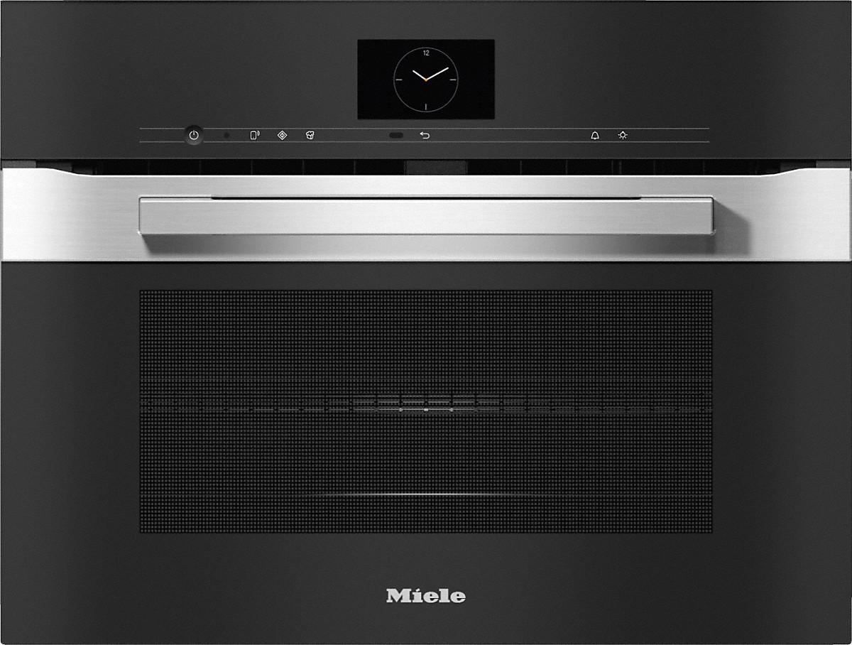 Miele H 7640 BM Kompakt-Backofen mit Mikrowelle Edelstahl/CleanSteel