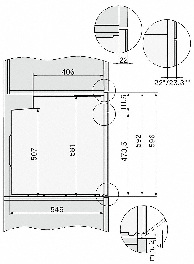 Miele H 7464 BP Einbau-Backofen Graphitgrau