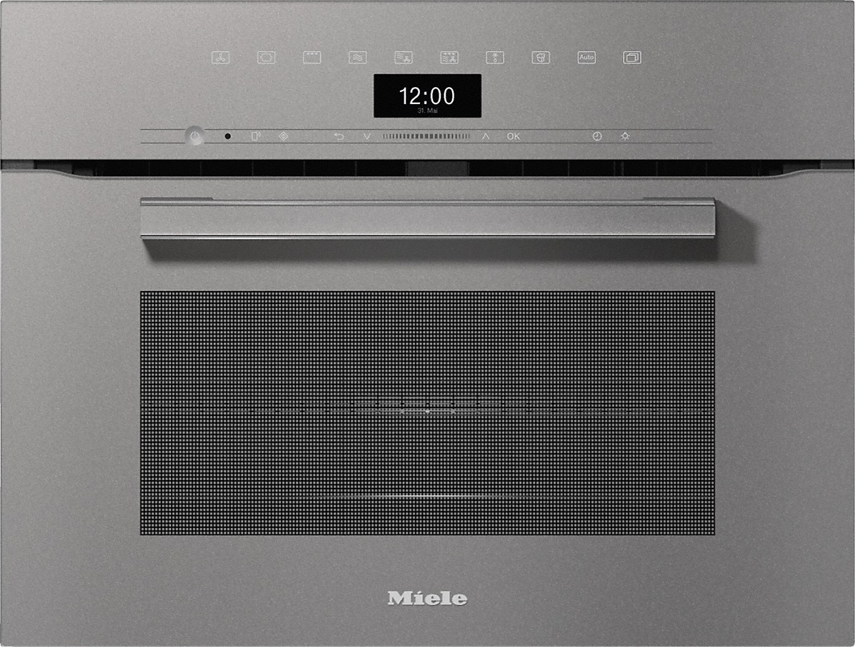 Miele H 7440 BM Kompakt-Backofen mit Mikrowelle Graphitgrau