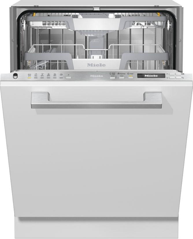 Miele G 7165 SCVi XXL AutoDos Vollintegrierter Geschirrspüler Edelstahl CleanSteel