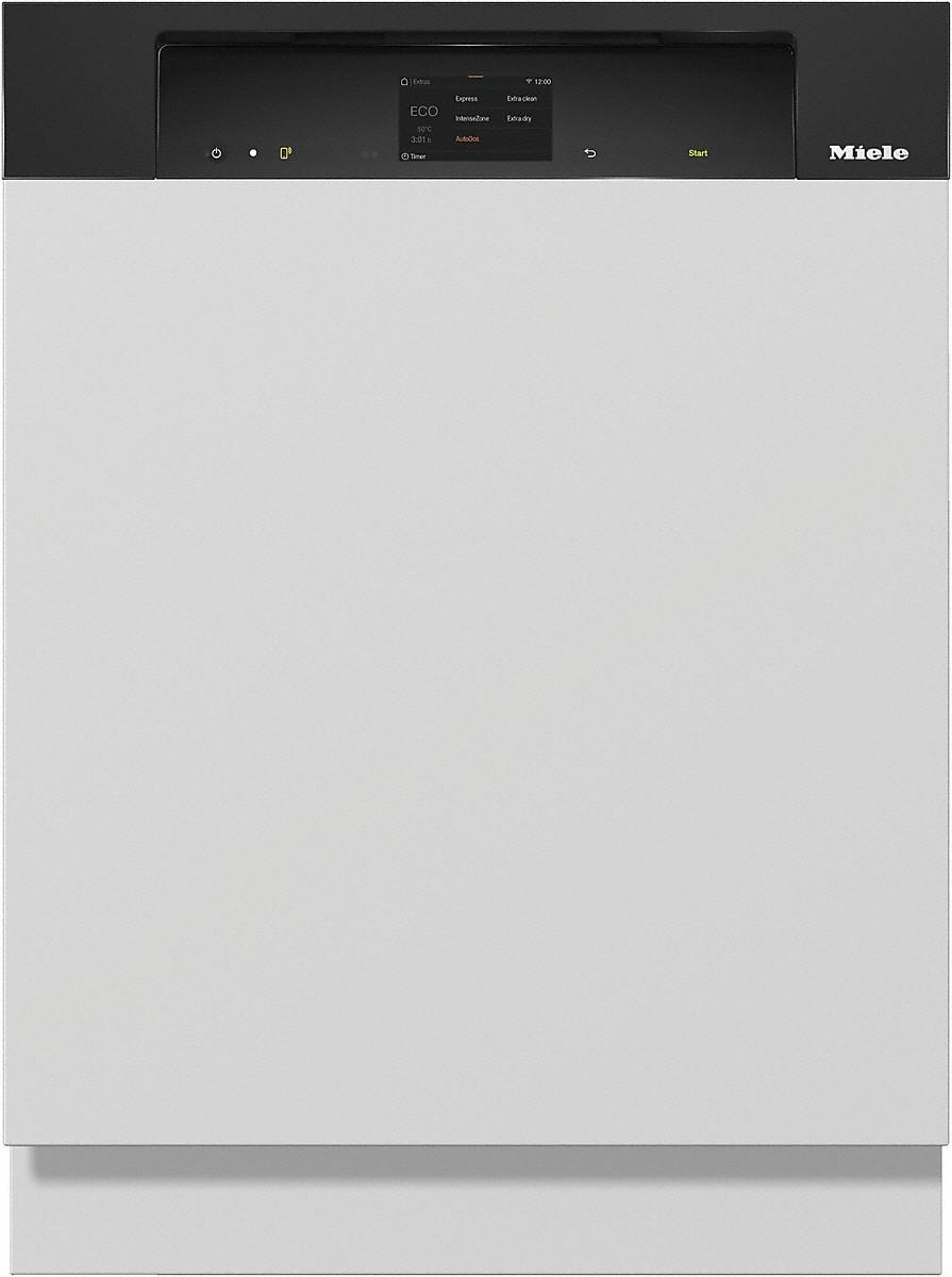 Miele G 7910 SCI Integrierter Geschirrspüler Obsidianschwarz