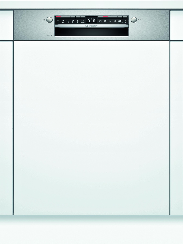 Bosch SMI4HTS31E Teilintegrierter Geschirrspüler Edelstahl