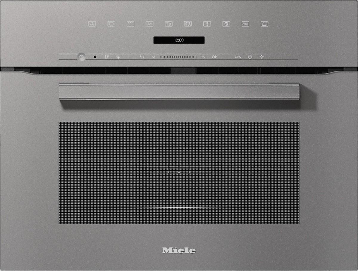 Miele H 7240 BM Kompakt-Backofen mit Mikrowelle Graphitgrau