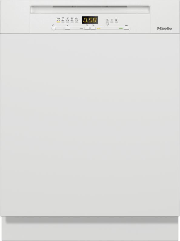 Miele G 5210 i Active Plus Integrierter Geschirrspüler Brillantweiß