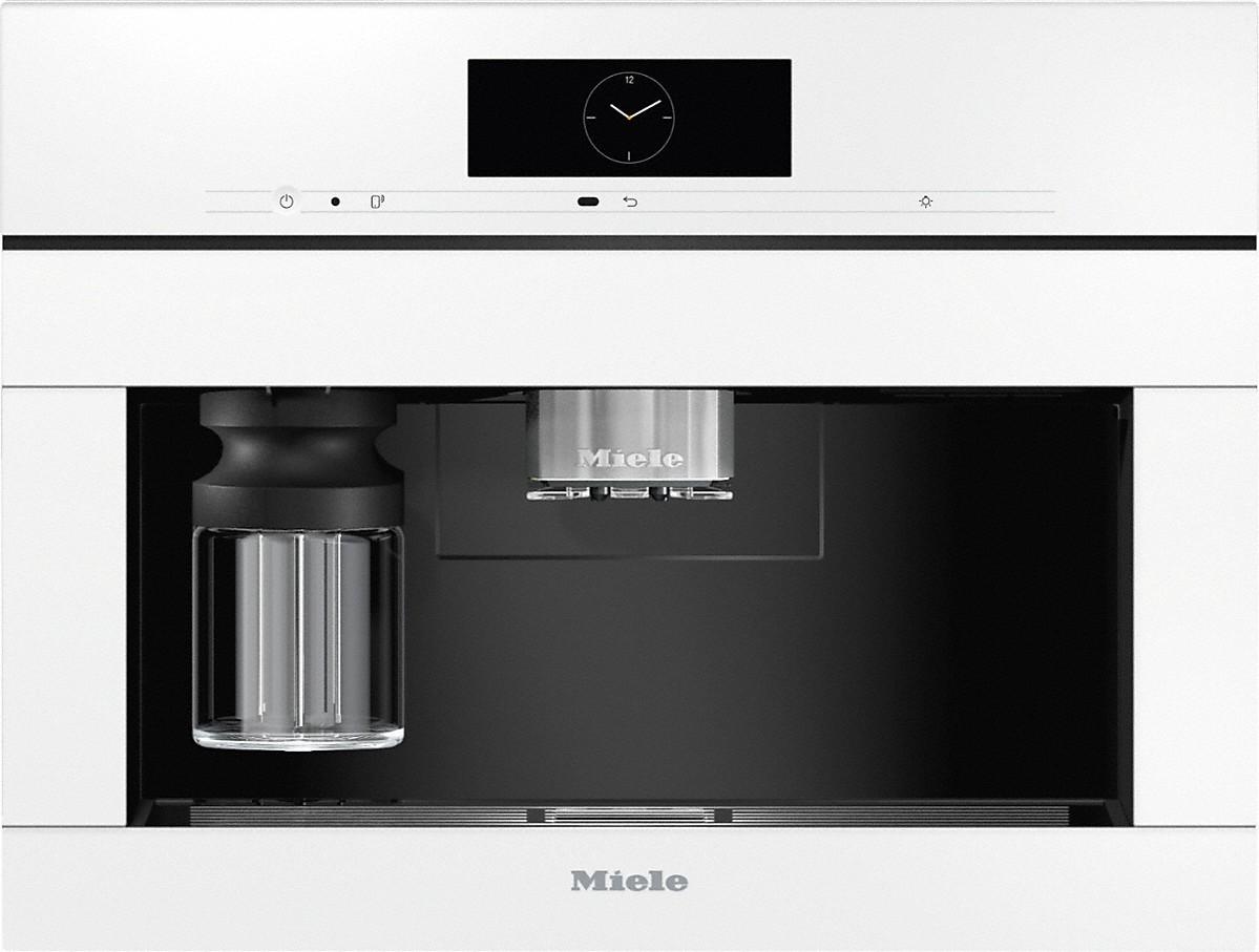 Miele CVA 7845 Einbau-Kaffeevollautomat Brillantweiß