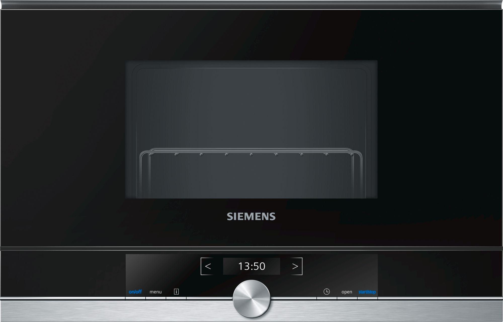 Siemens BE634RGS1 Einbau-Mikrowelle Edelstahl