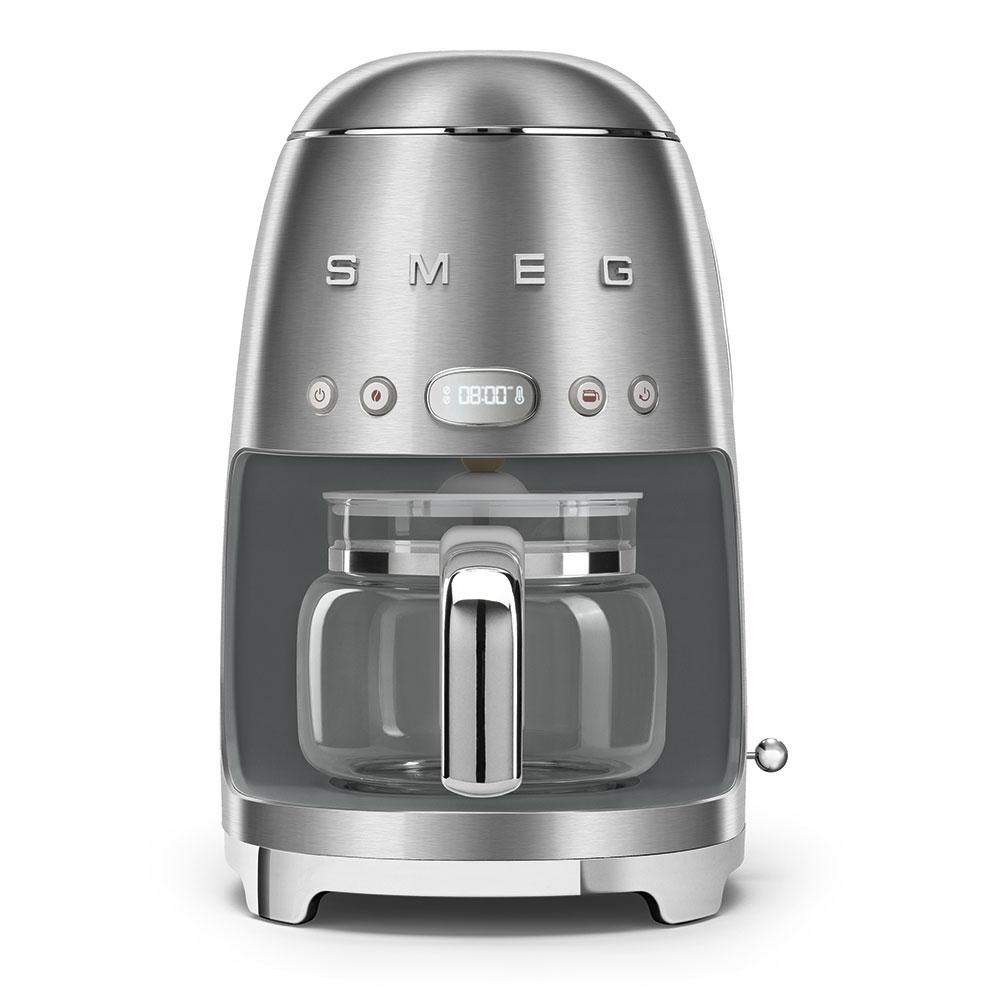 [Zweite Wahl] SMEG DCF02SSEU Filter Kaffeemaschine Edelstahl