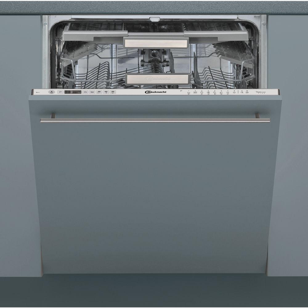 Bauknecht BCIO 3T123 PFE Vollintegrierter Geschirrspüler Edelstahl