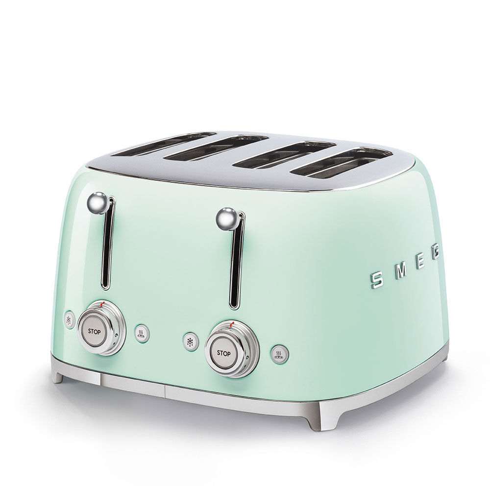 Smeg TSF03PGEU Toaster pastellgrün