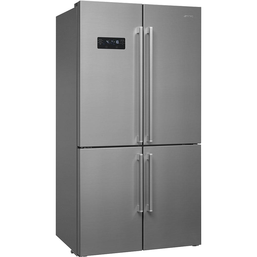 SMEG FQ60X2PEAI Stand-Kühlschrank Edelstahl