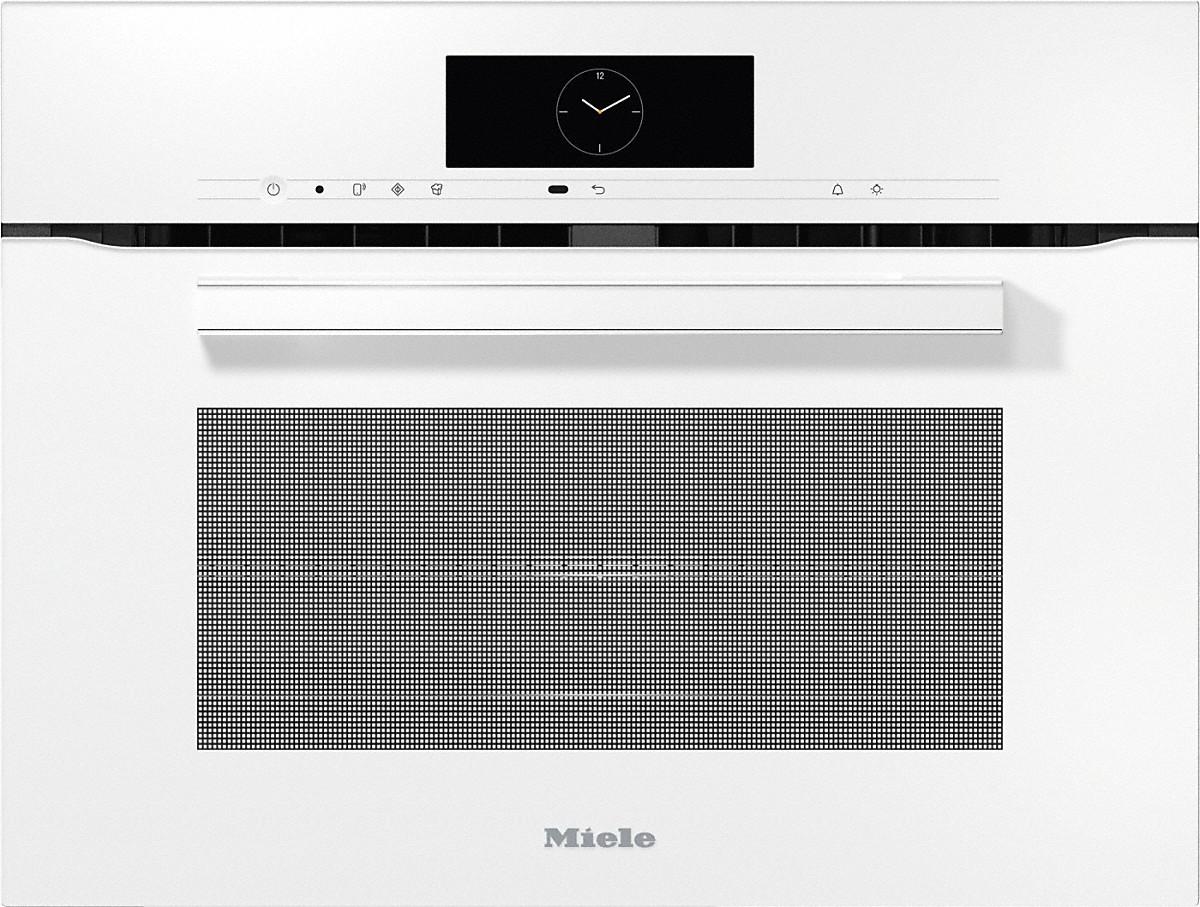 Miele H 7840 BM Kompakt-Backofen mit Mikrowelle Brillantweiß