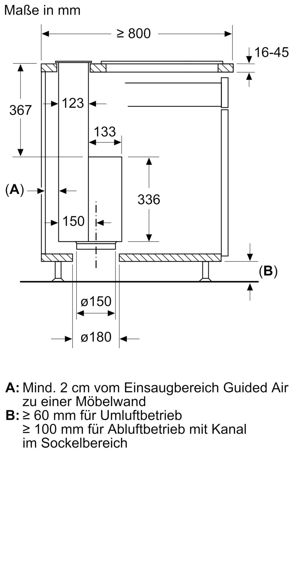 Siemens LD88WMM66 Tischlüfter Schwarz