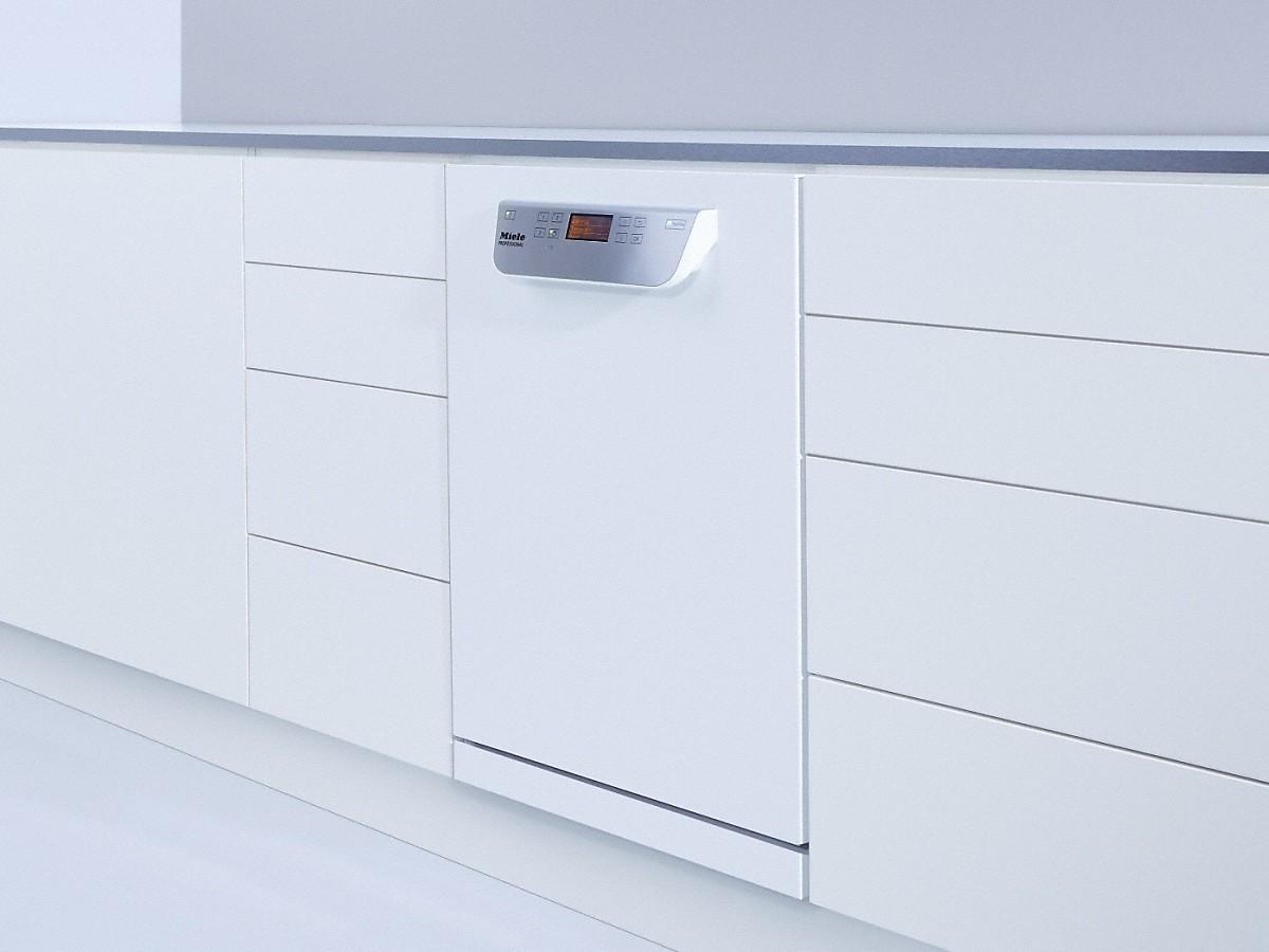 Miele PG 8055 U MK SPEED Unterbau-Frischwasser-Spülmaschine Lotosweiß