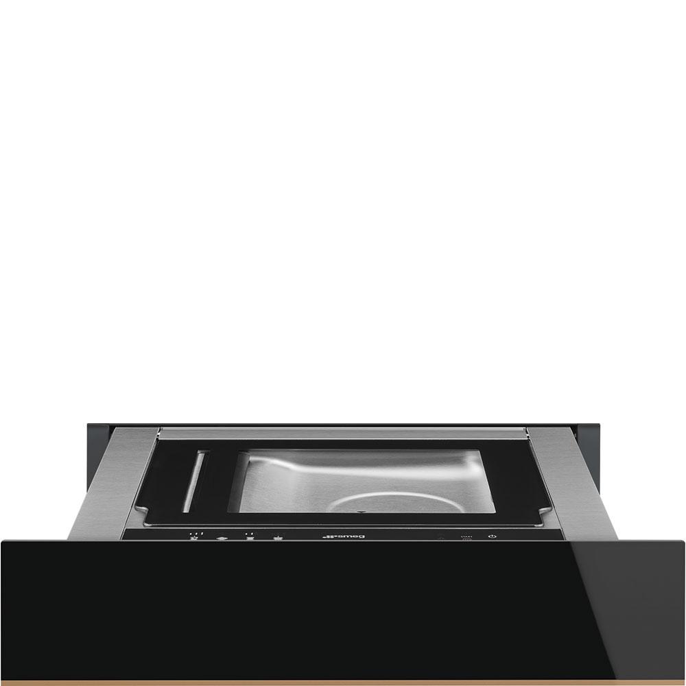 Smeg CPV615NR Einbau-Vakuumierschublade Schwarzglas