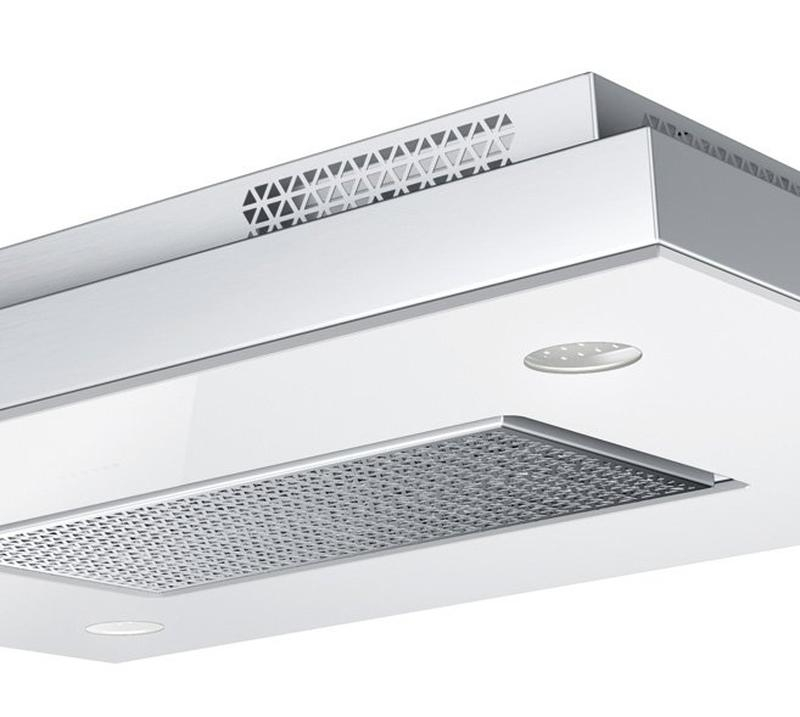 [Zweite Wahl] Gutmann Deckenmodul Capa 07EM1000C / 100 cm / Umluft Glas weiß