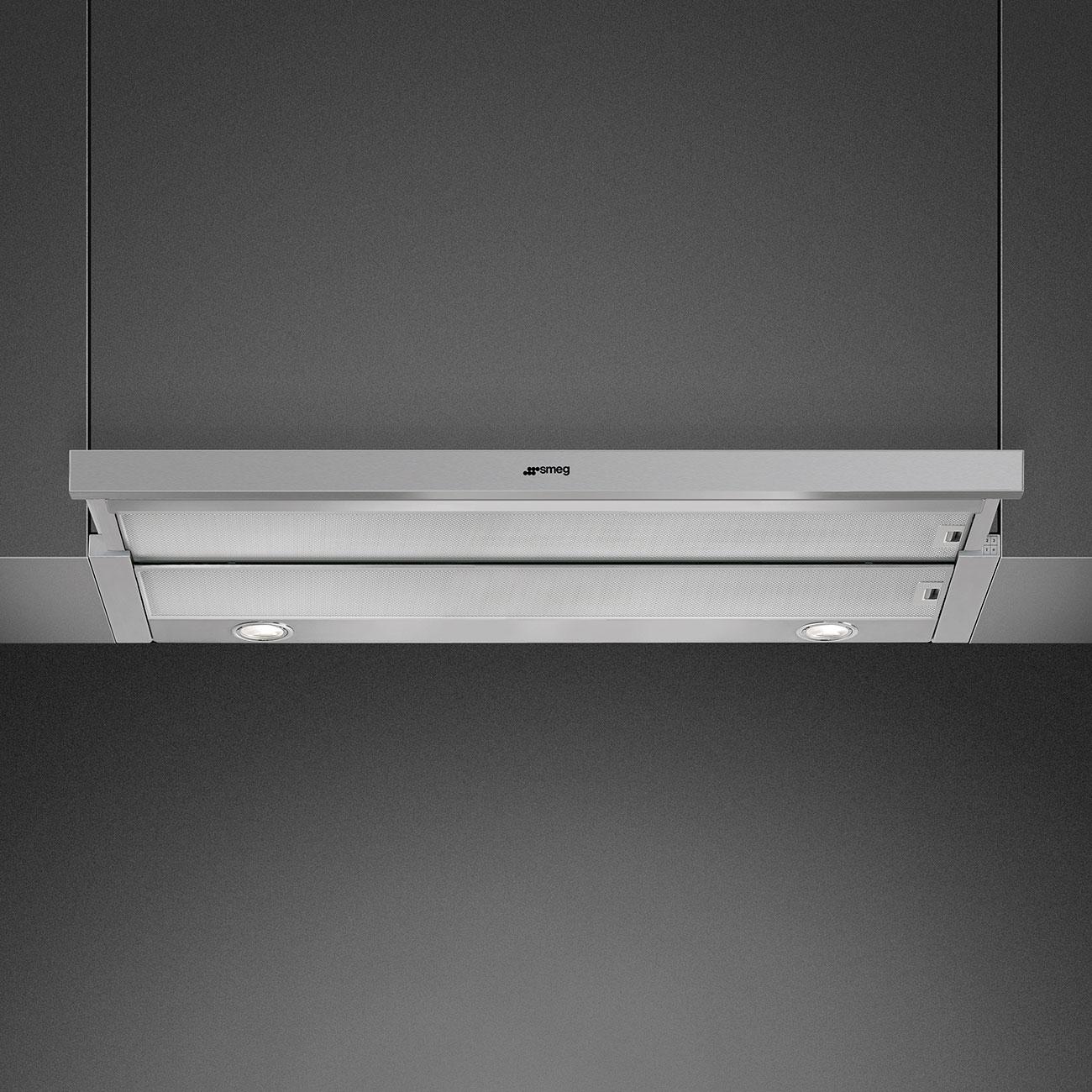 Smeg KSET999XE Flachschirmhaube Silber