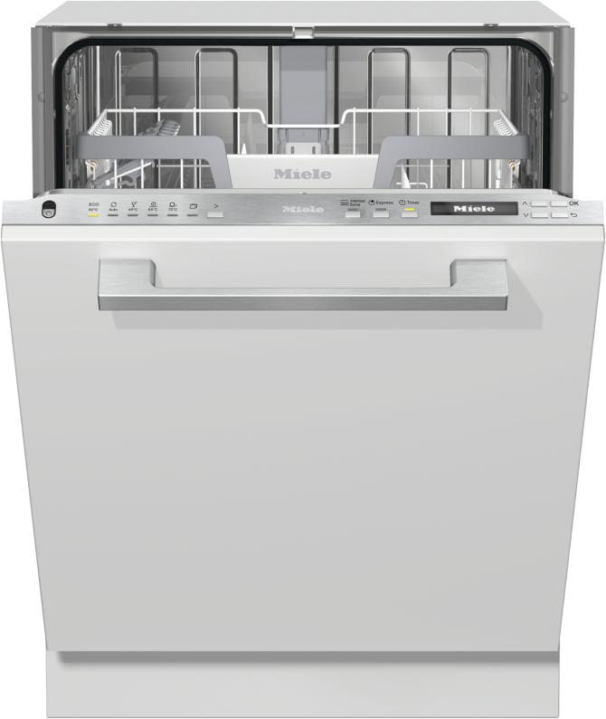 Miele G 7150 VI Vollintegrierter Geschirrspüler Edelstahl