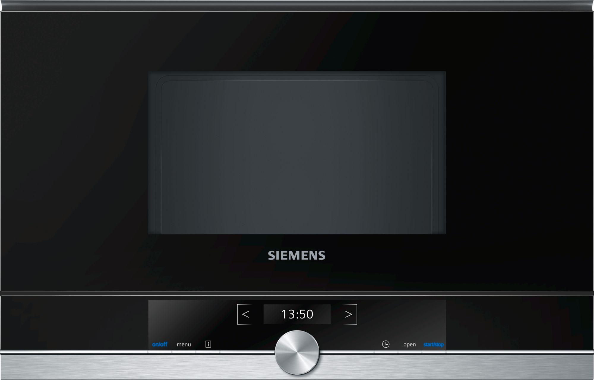 Siemens BF634RGS1 Einbau-Mikrowelle Edelstahl