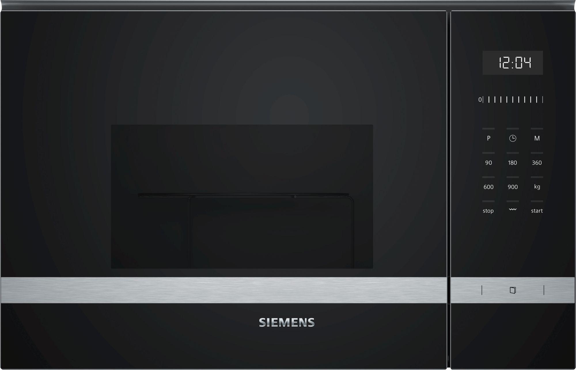 Siemens BE555LMS0 Einbau-Mikrowellengerät mit Grill Edelstahl