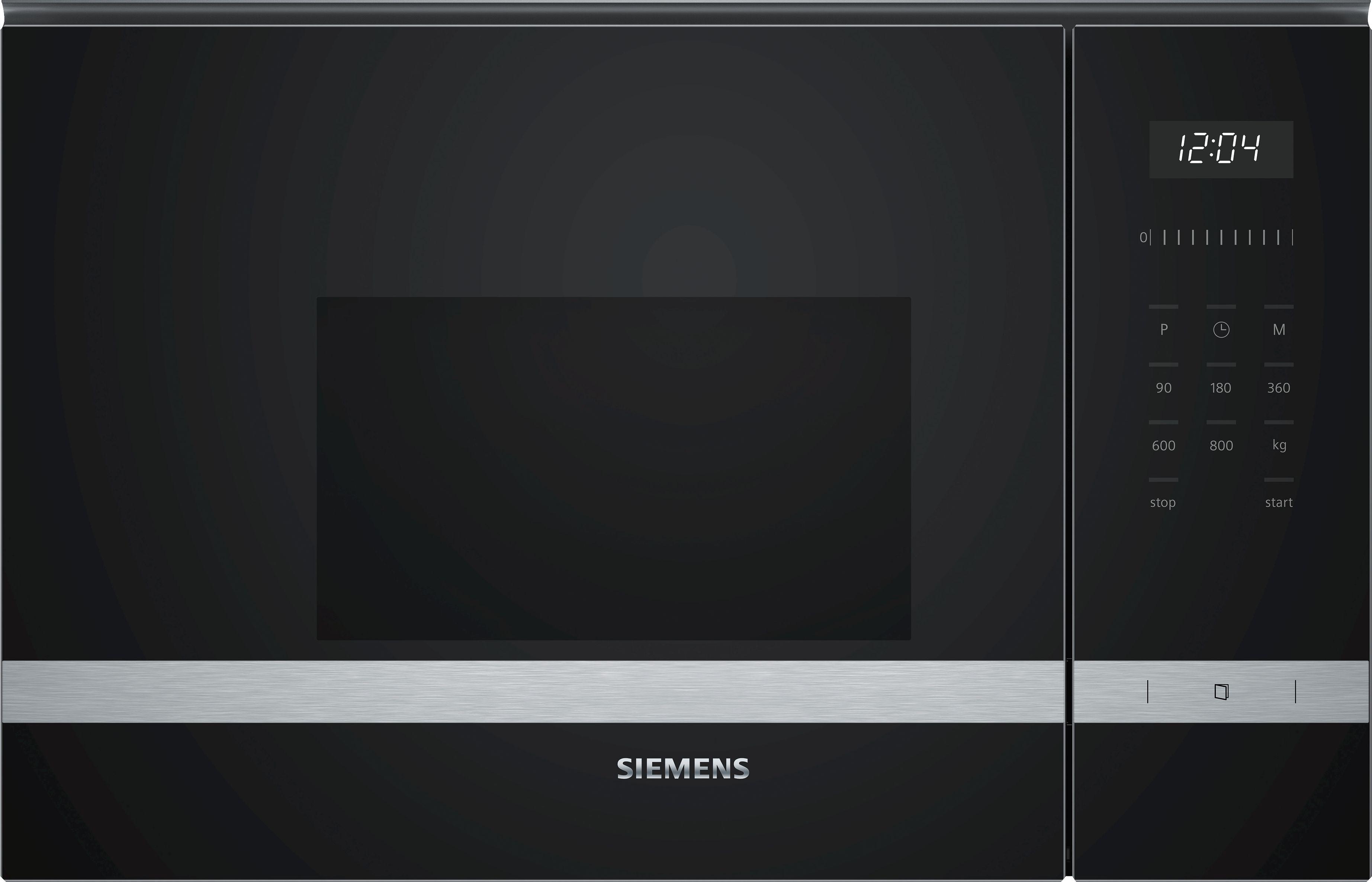 Siemens BF525LMS0 Einbau-Mikrowelle Edelstahl
