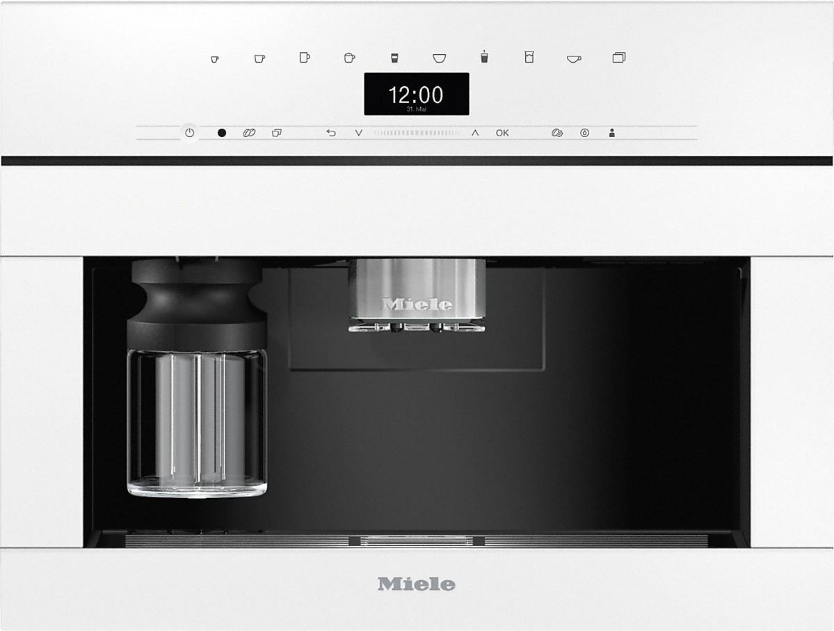 Miele CVA 7440 Einbau-Kaffeevollautomat Brillantweiß