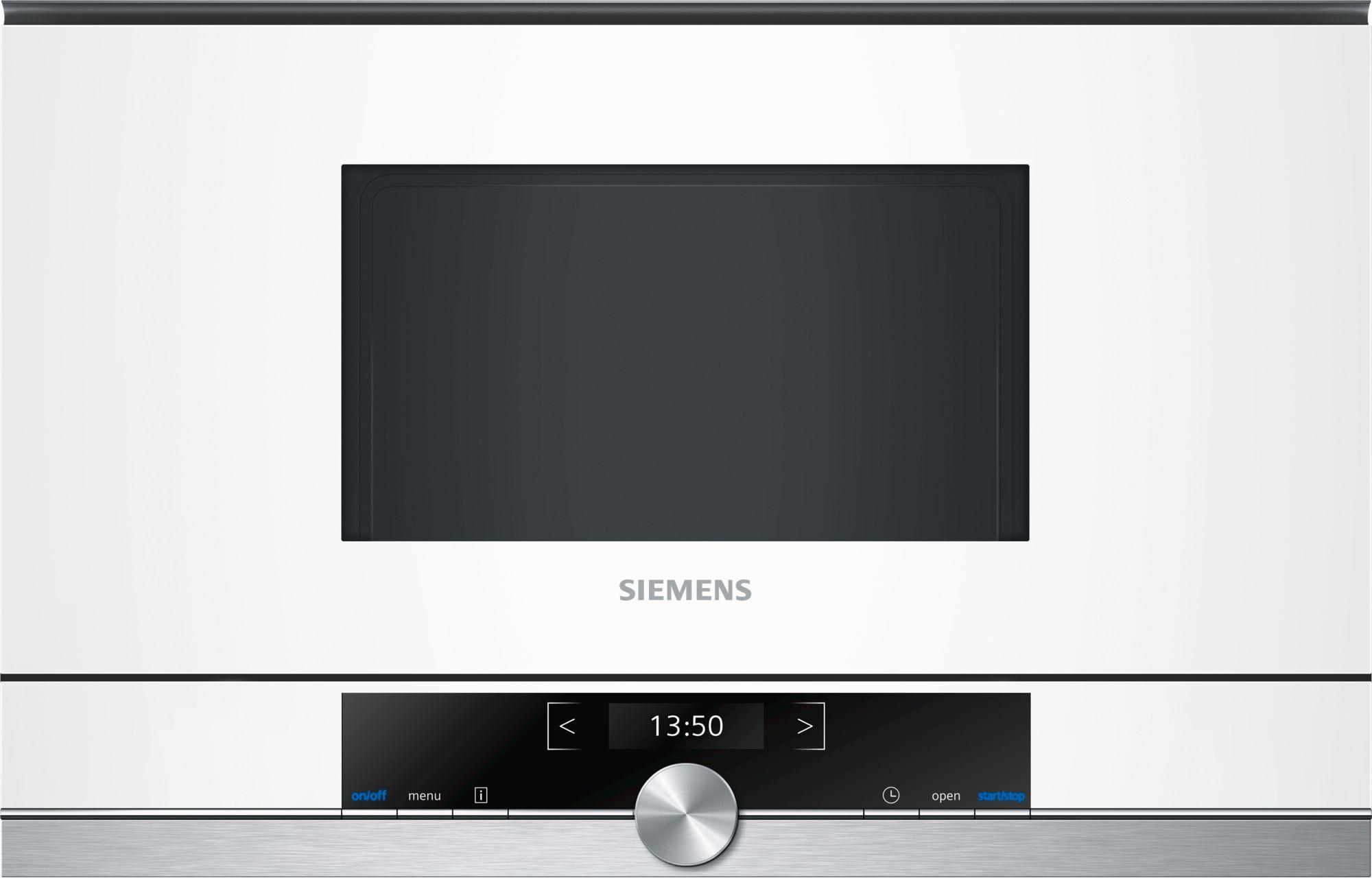 Siemens BF634LGW1 Einbau-Mikrowelle Weiß