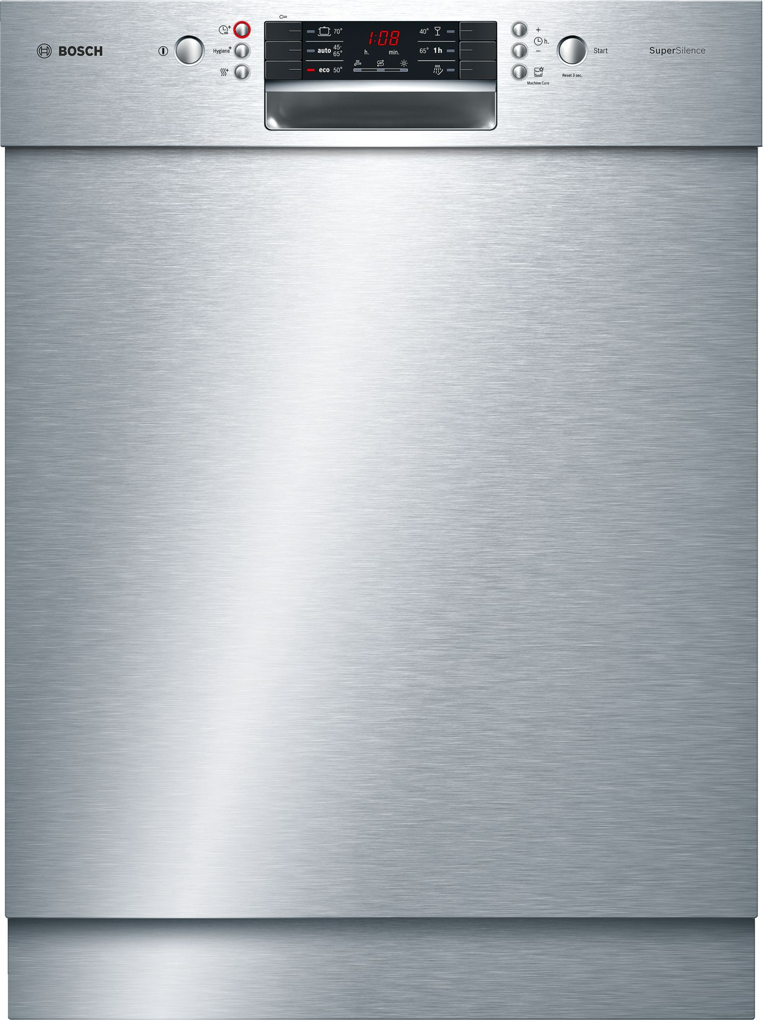 Bosch SMU46MS03E Unterbau-Geschirrspüler Edelstahl