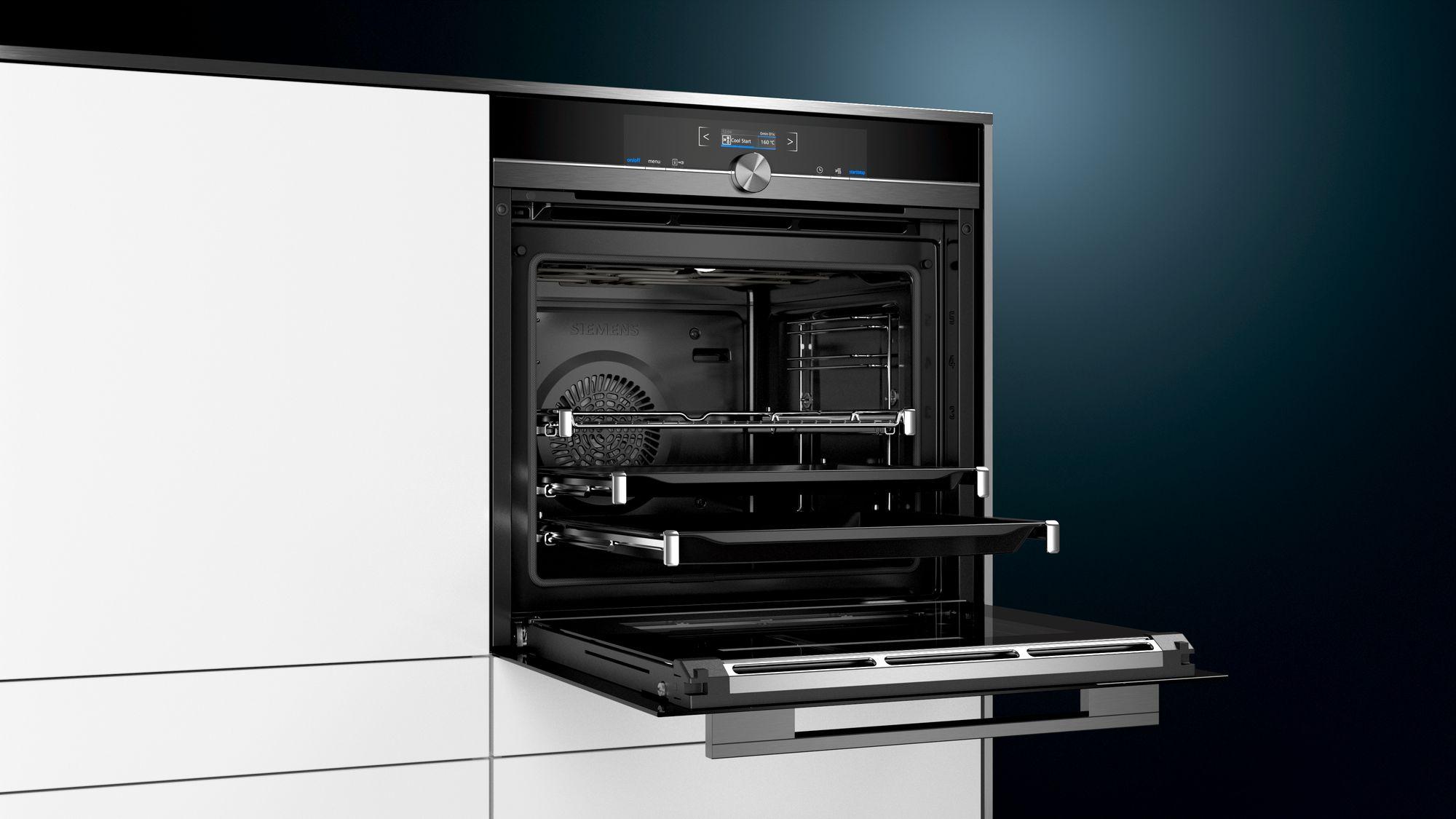 Siemens HB875G8B1 Einbau-Backofen Schwarz