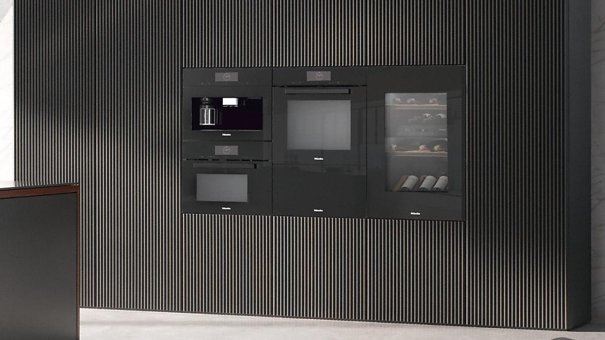 Miele ESW 7030 Gourmet-Wärmeschublade Obsidianschwarz