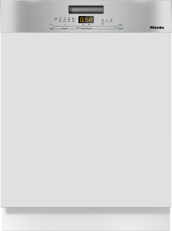 Miele G 5000 i Active Integrierter Geschirrspüler Edelstahl CleanSteel