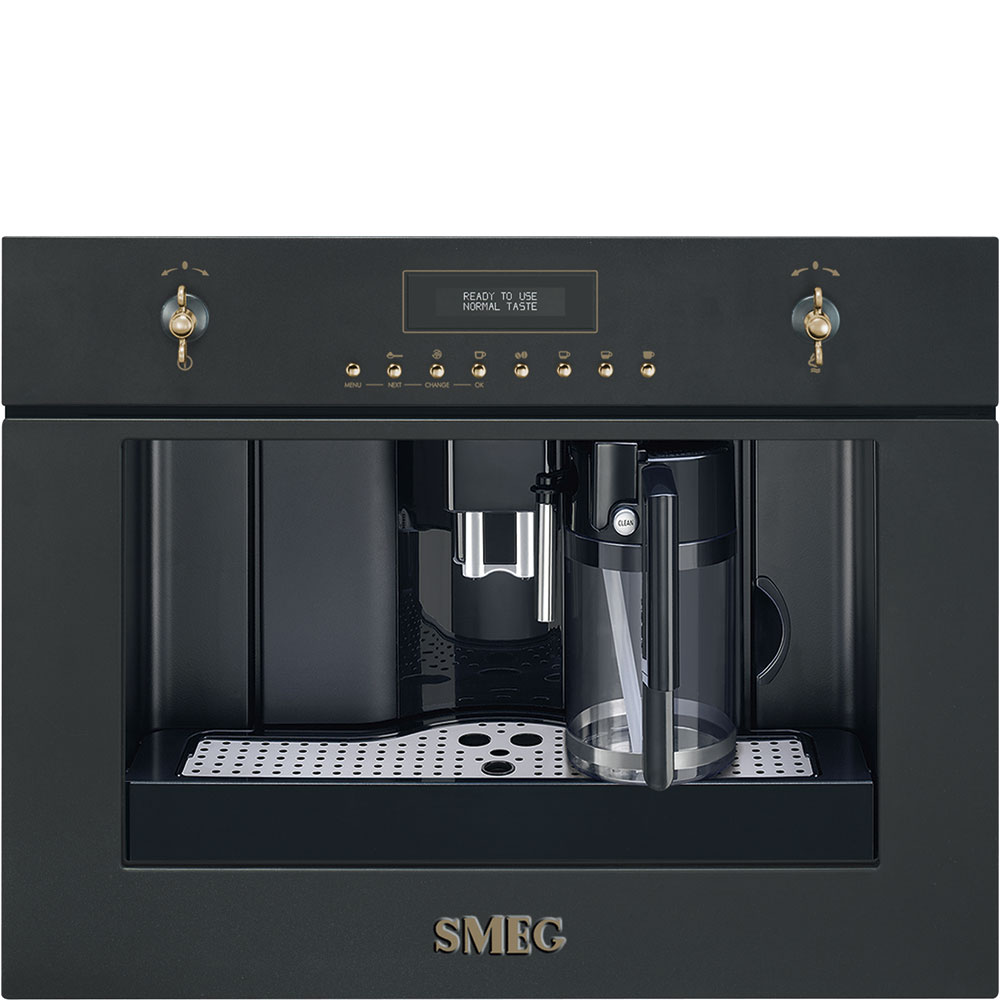 Smeg CMS8451A Einbau-Kaffeevollautomat Anthrazit