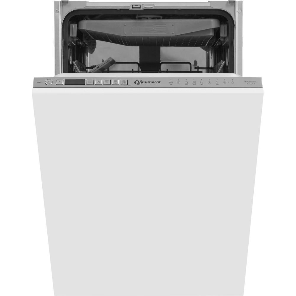 Bauknecht BSIO 3O35 PFE X Vollintegrierter Geschirrspüler Edelstahloptik