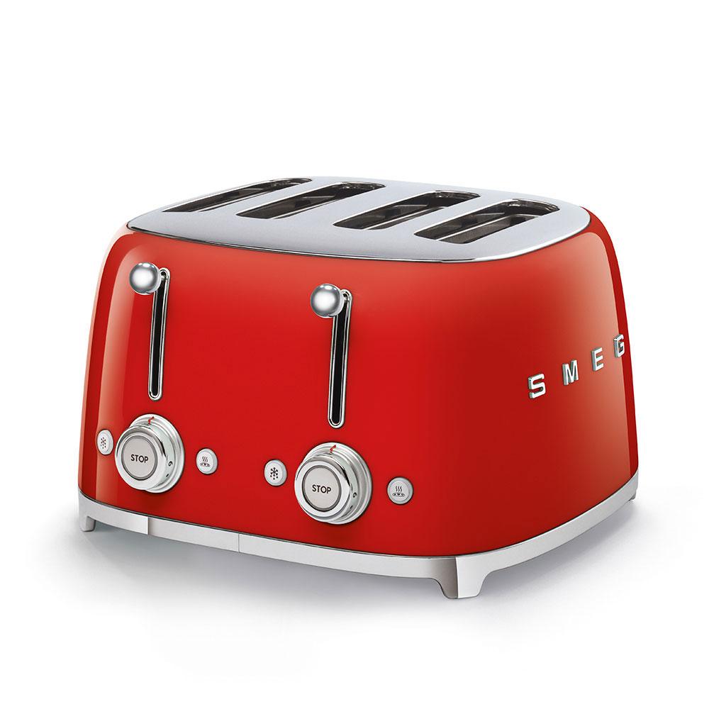 Smeg TSF03RDEU Toaster Rot