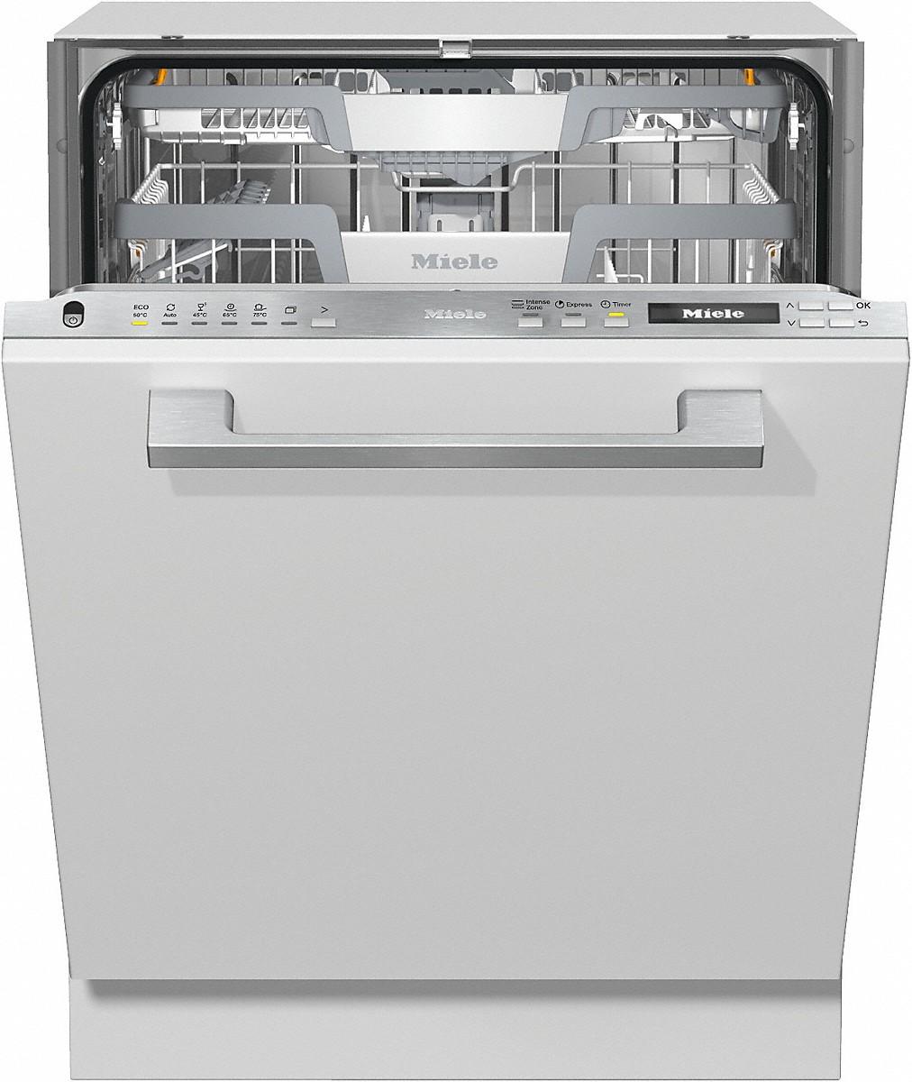 Miele G 7150 SCVI Vollintegrierter Geschirrspüler Edelstahl