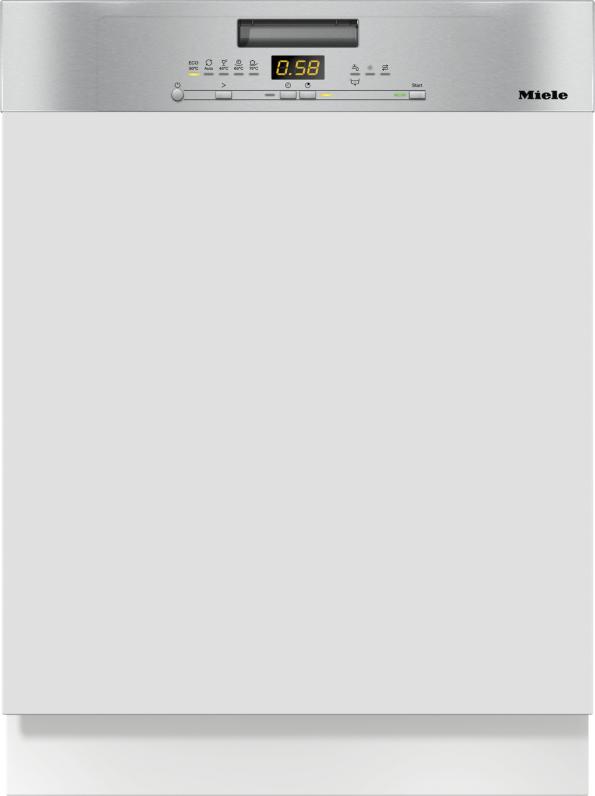 Miele G 5000 SCi Active Integrierter Geschirrspüler Edelstahl CleanSteel